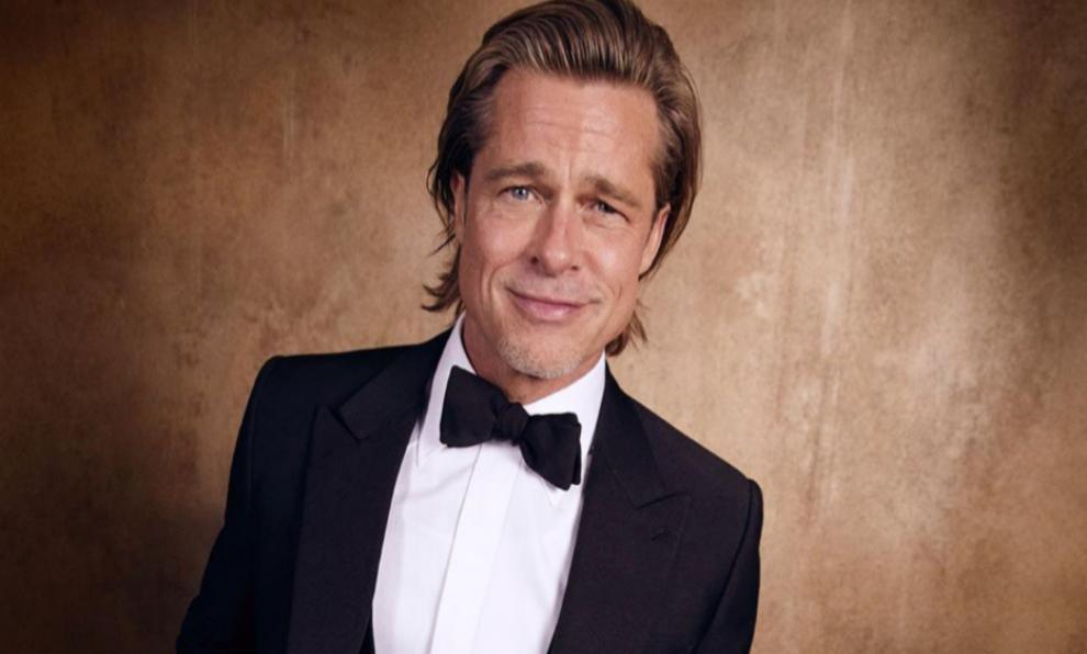 Brad Pitt durante la pasada ceremonia de los Oscar