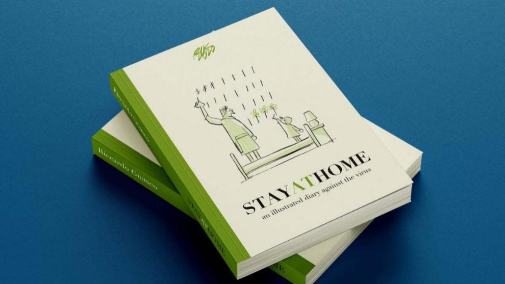 Stay at Home, el nuevo libro del ilustrador italiano Riccardo Guasco.