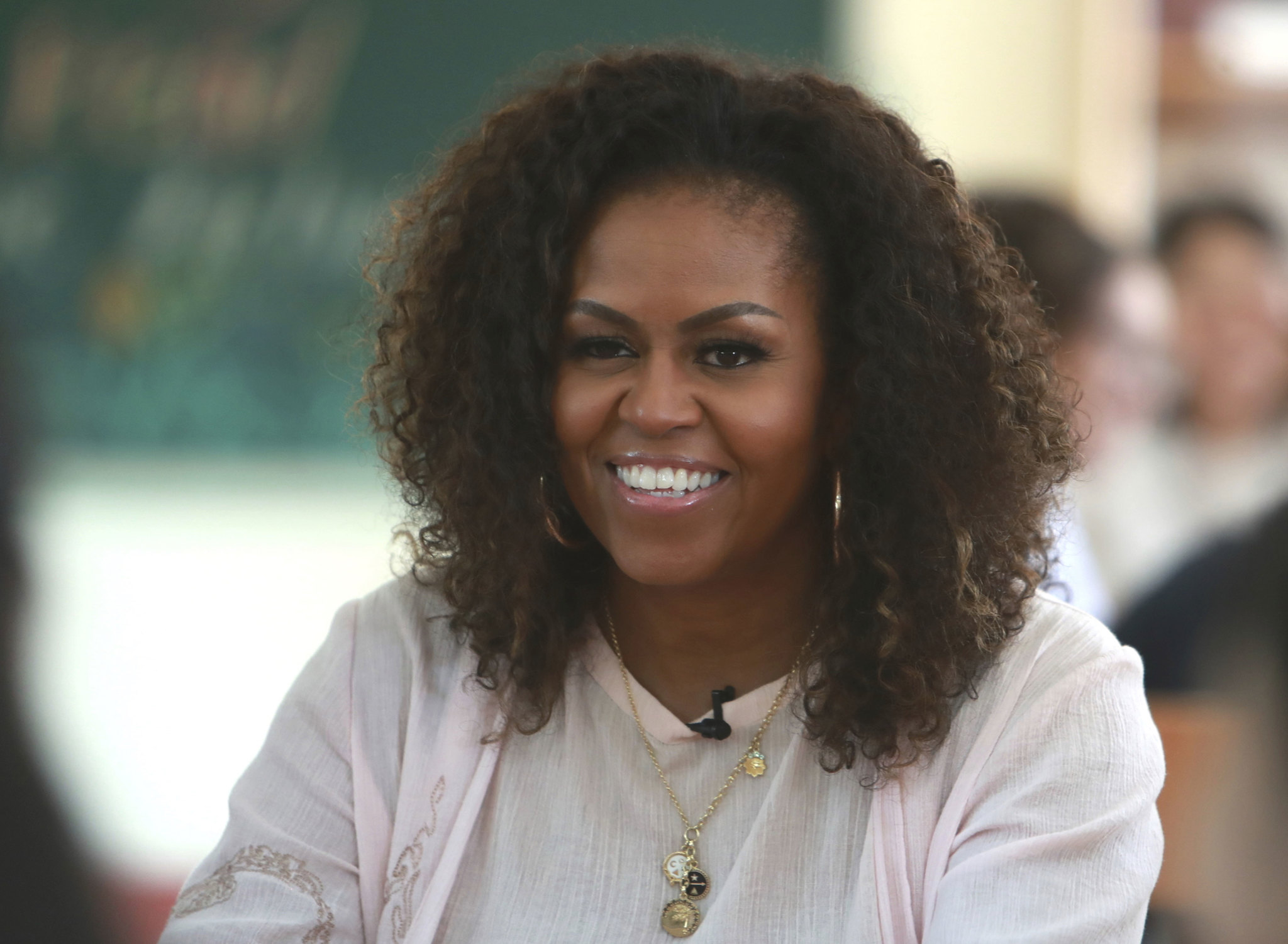 Michelle Obama en diciembre de 2019