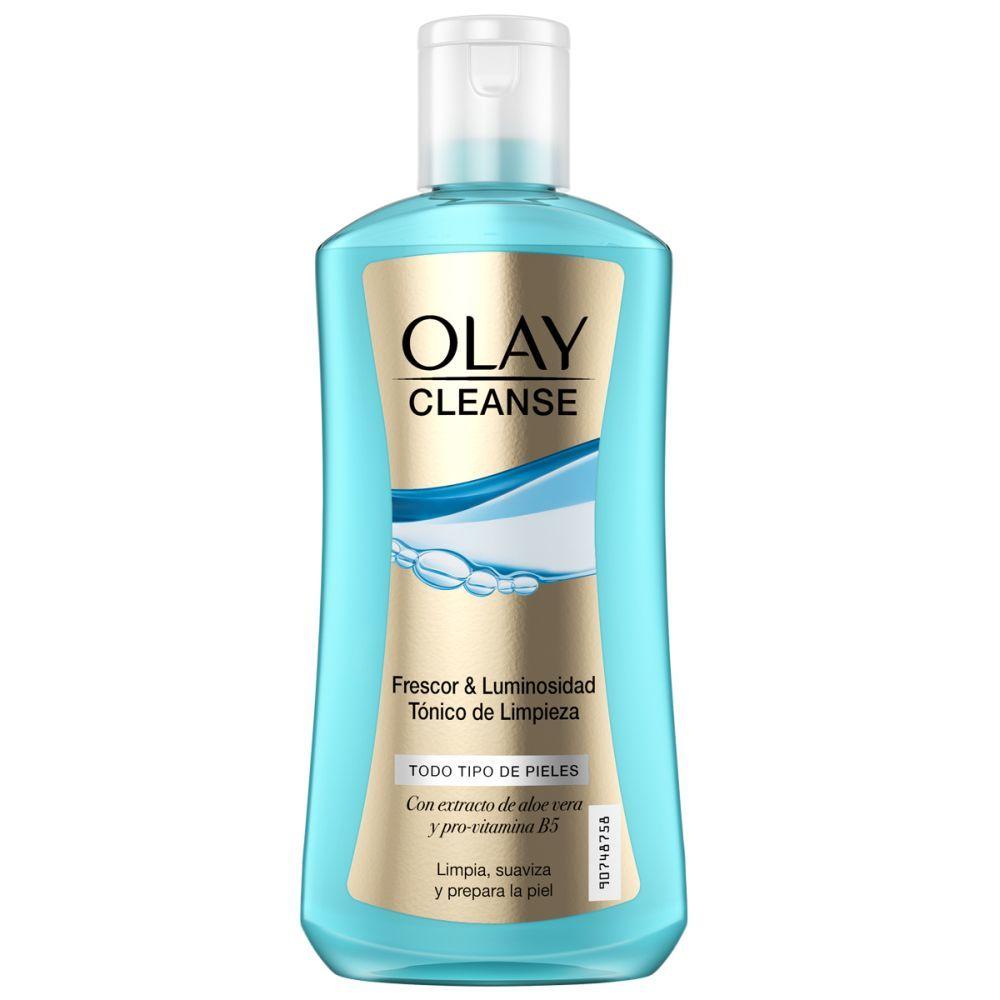 Tónico Cleanse de Olay (4,99 euros) para limpiar todo tipo de pieles (en especial, elimina los excesos de grasa) con aloe vera y pro-vitamina B5. En supermercados.