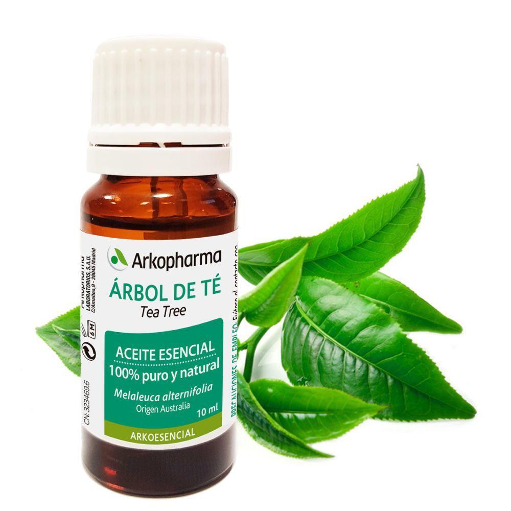 Aceite esencial de árbol de té de Arkpharma (7,60 euros). De efecto antimicrobiano y desinfectante para los granitos. En farmacias.