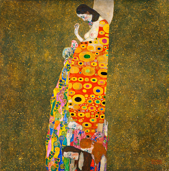 Esperanza. Oleo de Gustav Klimt de 1917. Se conserva en el Museum of Modern Art de Nueva York.