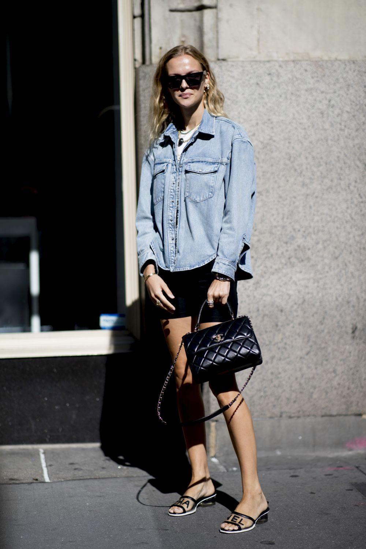 ¿Prefieres la camisa vaquera ceñida u oversize?