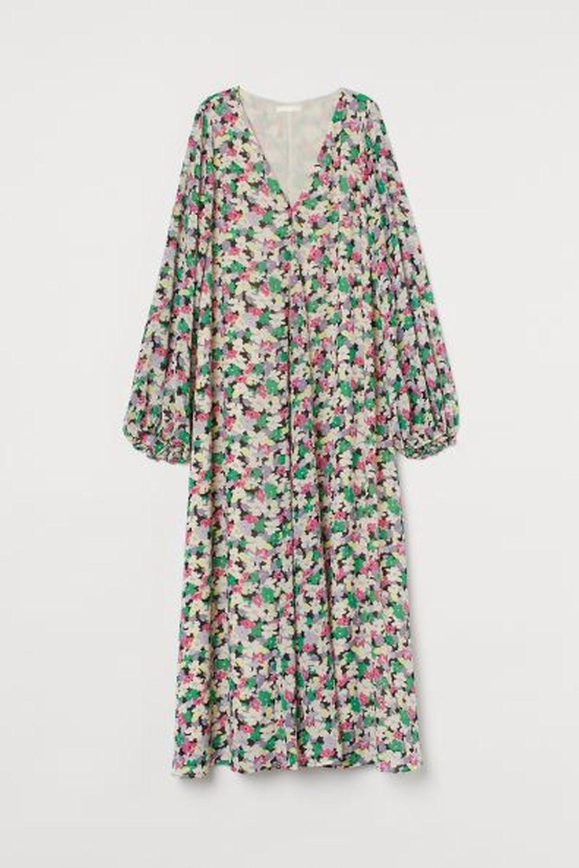 Vestido floral de H&M