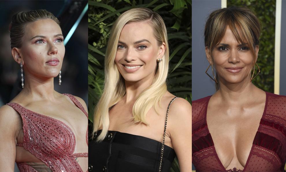 Scarlett Johansson, Margot Robbie y Halle Berry son alguna de las...