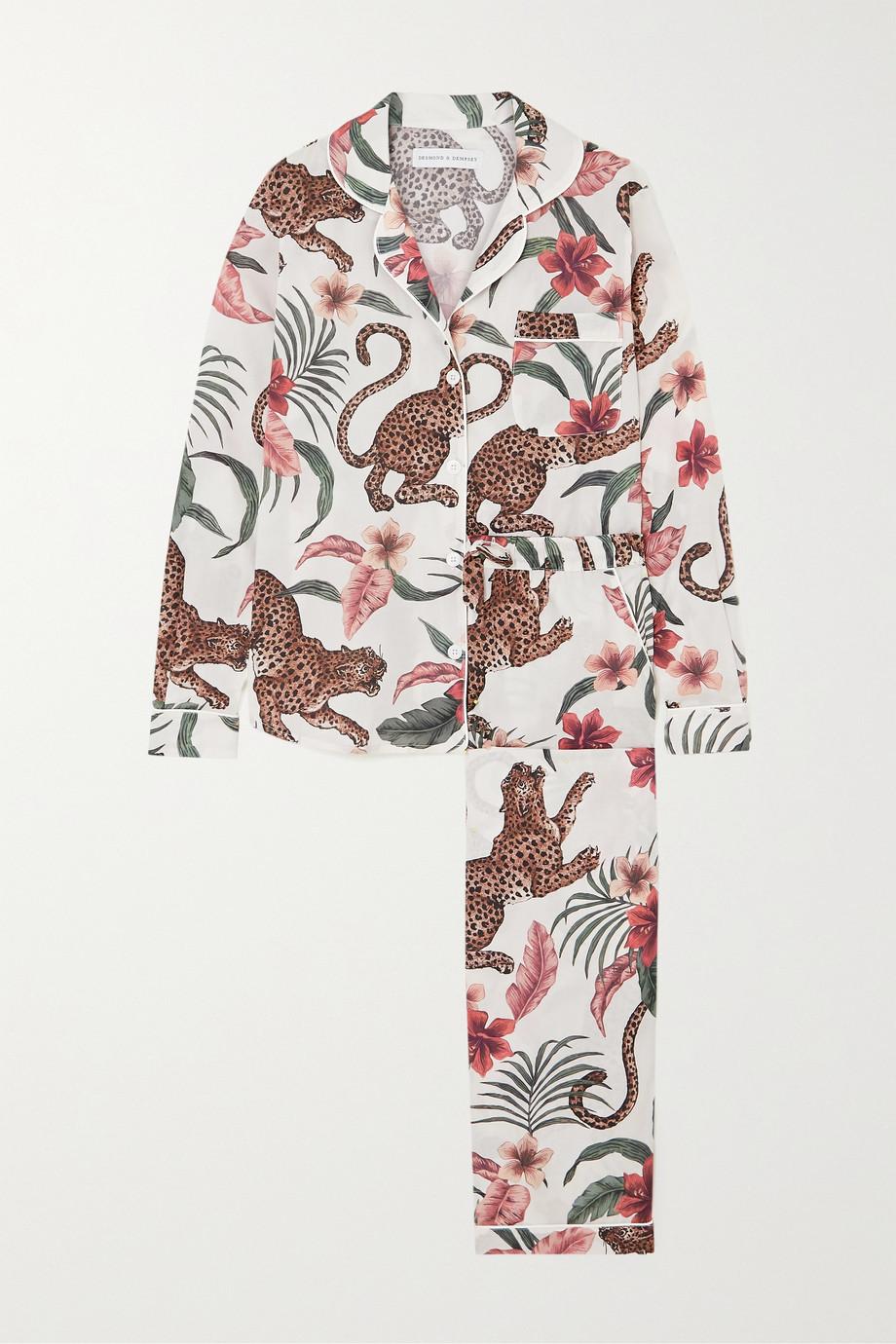 Pijama de algodón estampado (170 ¤) Desmond & Dempsey.