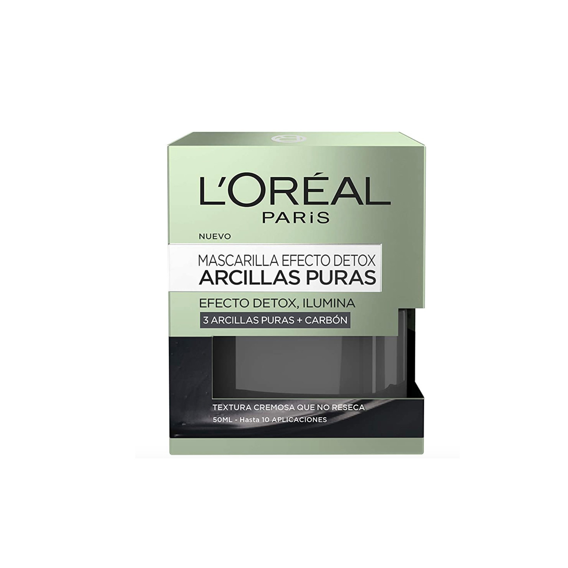 Mascarilla Efecto Detox Arcillas Puras, de L' Oréal Paris