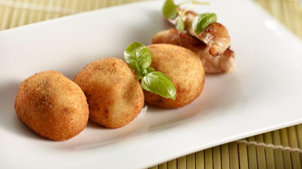 Croquetas de pollo de Diego Dato, chef del restaurante Melvin by...