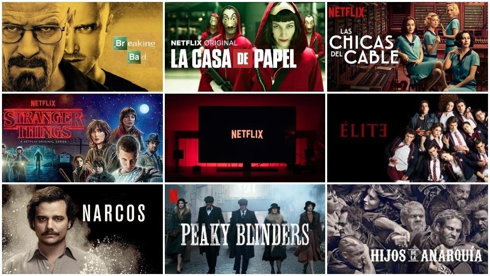 Netflix ofrece más de 200 secciones para categorizar su contenido.