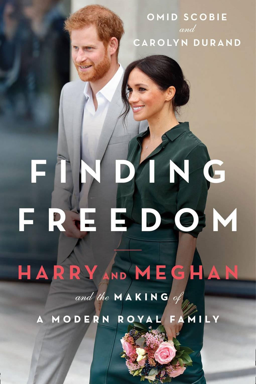 Portada de la biografía de Meghan y Harry