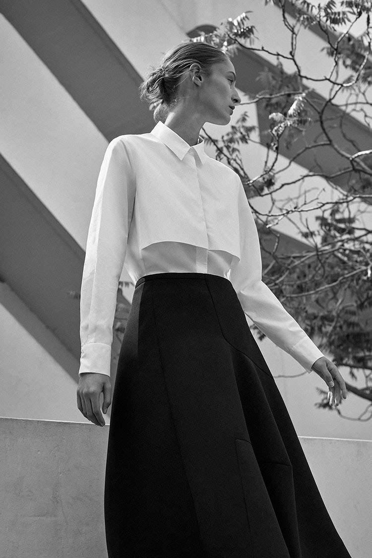 Una de las últimas colecciones de Cos se inspiraba en Bauhaus.Foto: Cos.