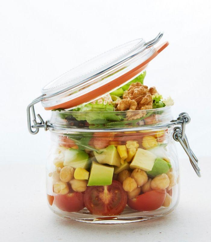 Las legumbres compradas en tarro de cristal hay que lavarlas muy bien