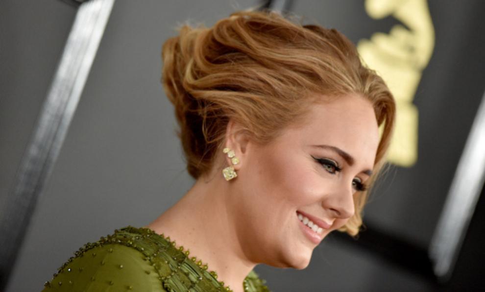 La cantante británica Adele, en una de sus última apariciones...