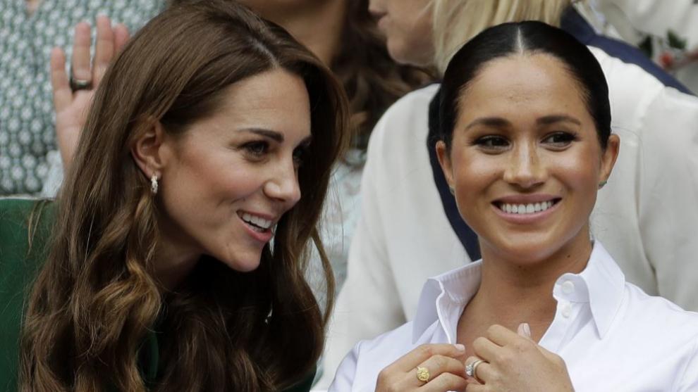 Kate Middleton y Meghan Markle a veces coinciden en sus estilismos y...