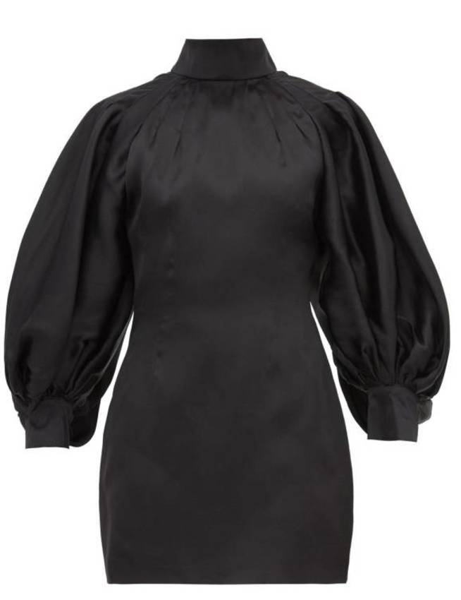 El vestido de la firma Elzinga.