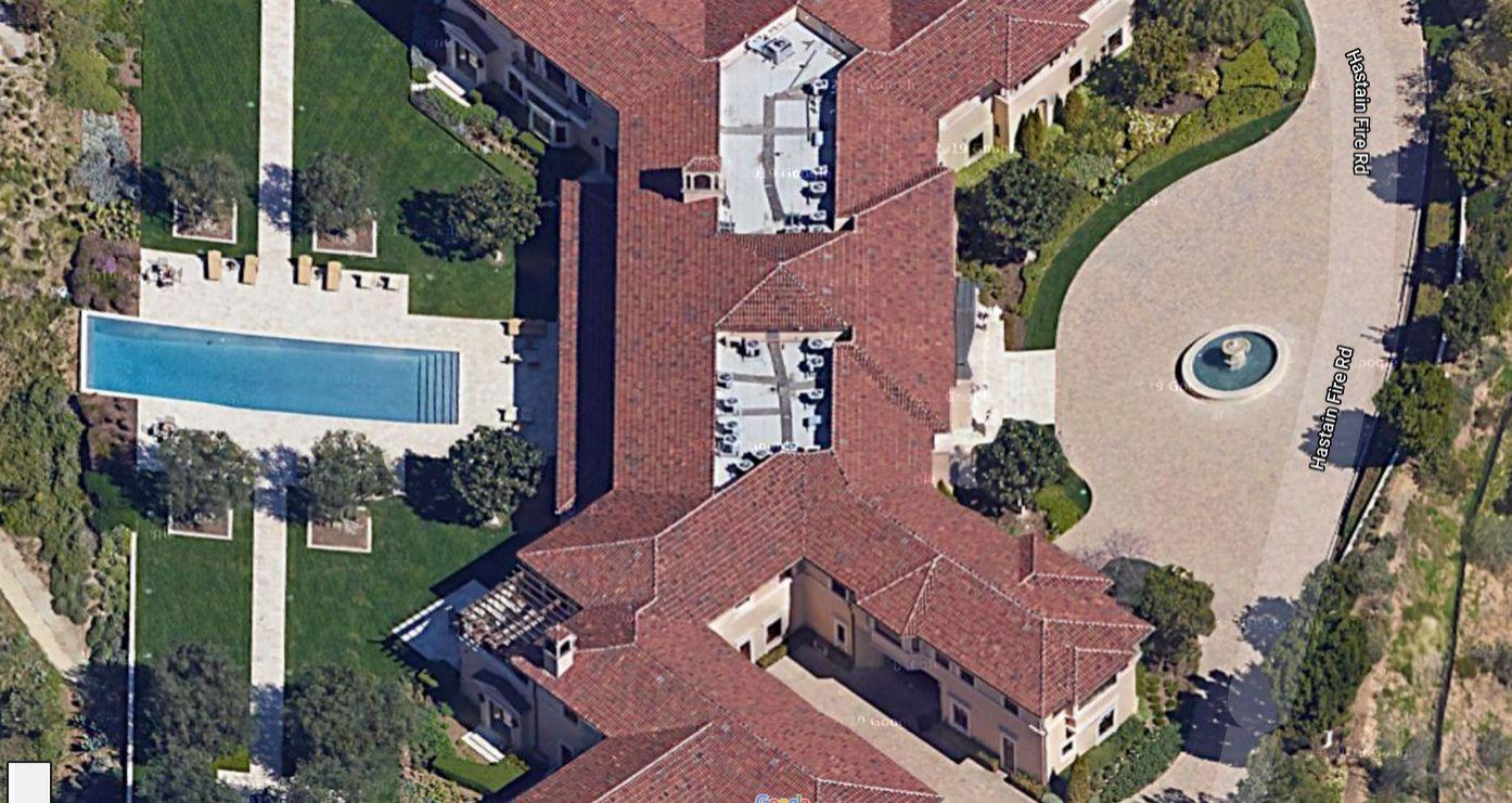 La casa de Meghan y Harry en Beverly Hills.