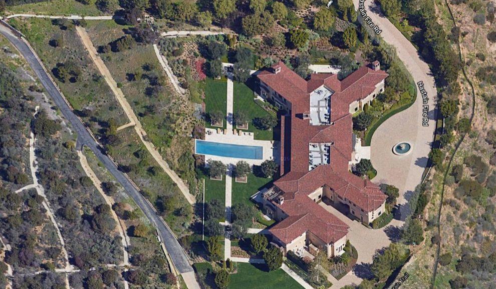La mansión de los Sussex en los Angeles.