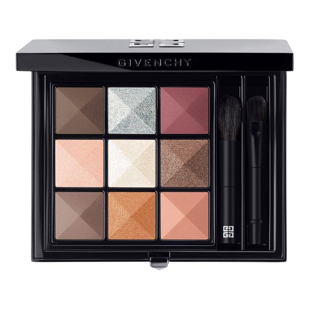Paleta de sombras de ojos Le 9.01 de Givenchy, con tonos nude ideales para todos los colores de iris.