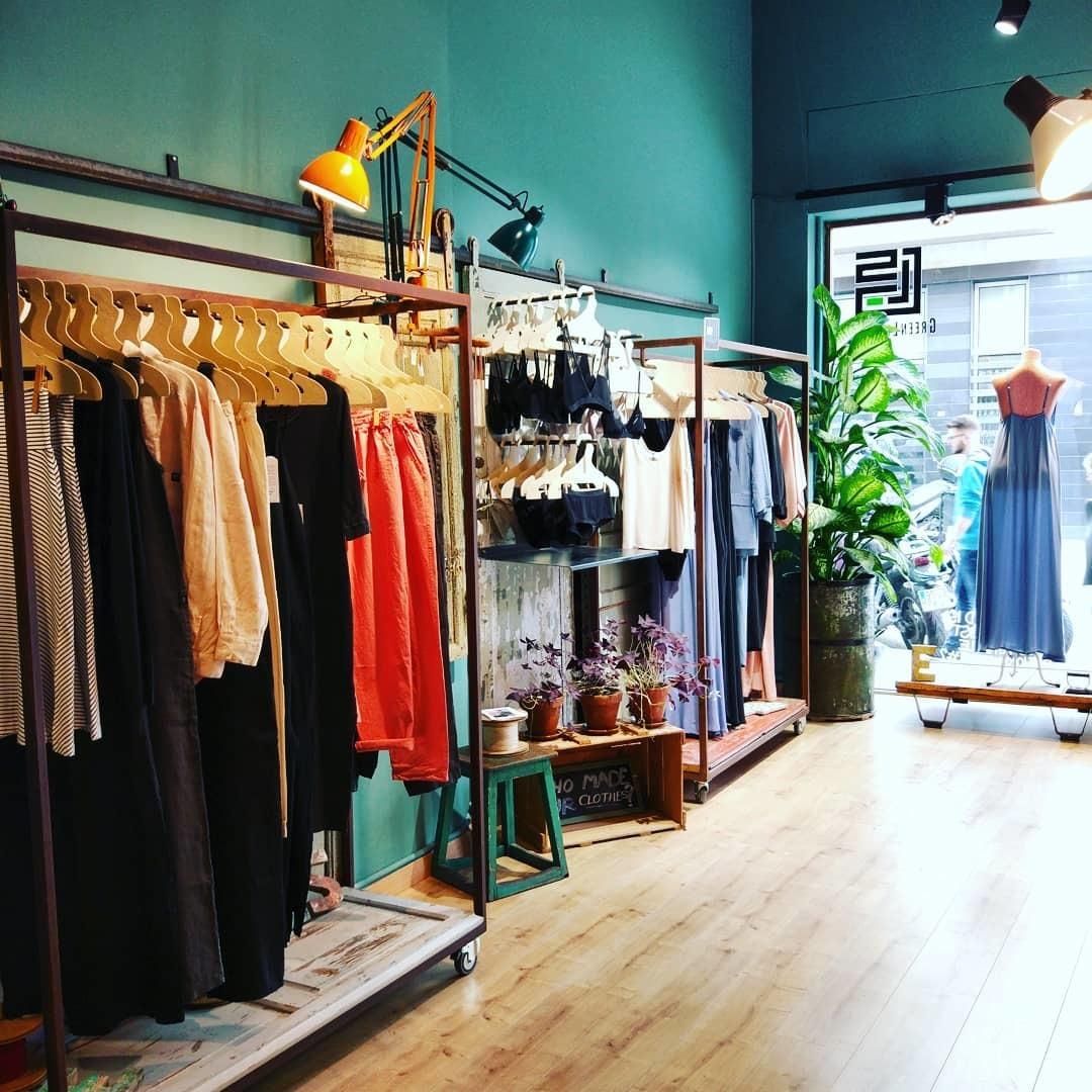 Interior de la tienda Greelife Style