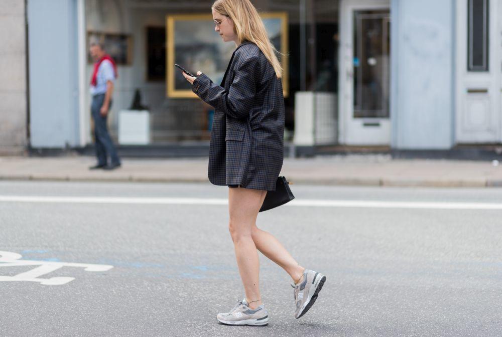 Pernille Teisbaek en la semana de la moda.