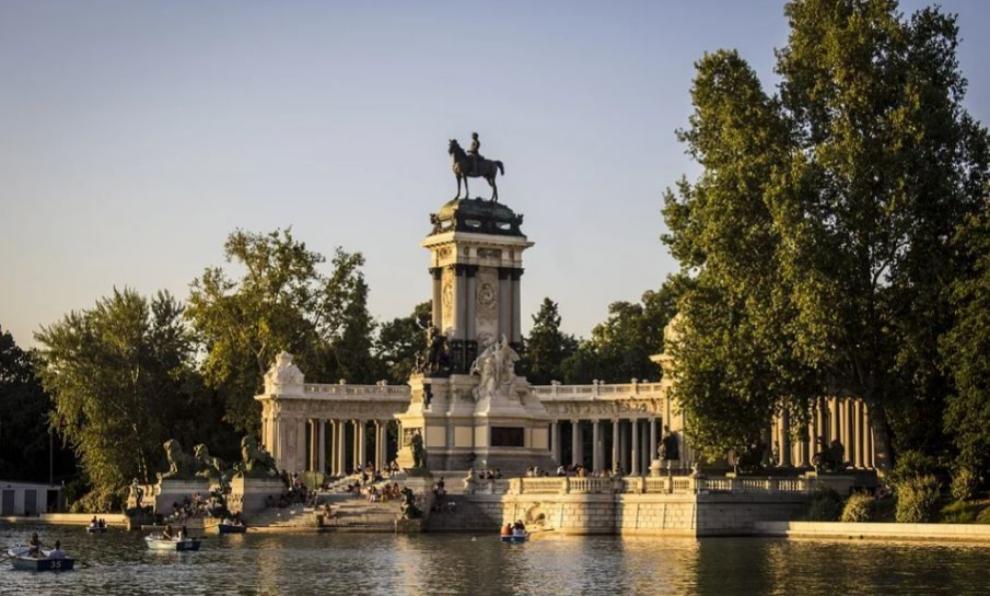 Parque del Buen Retiro, en Madrid.