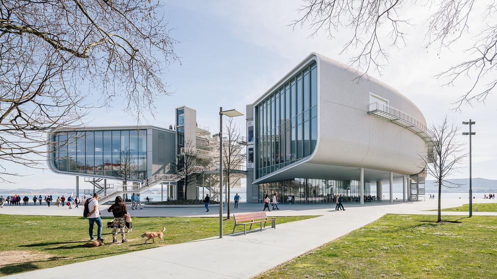El Centro Botín de Santander (Fundación Botín).