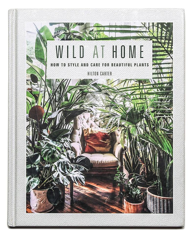 Wild at Home. Hilton Carter.Un paseo entre las más  de 200 plantas que el gurú botánico americano tiene en su apartamento.Con ideas de diseño y decoración.
