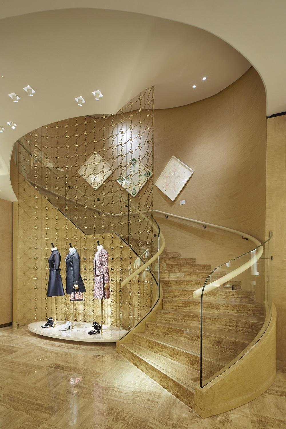 Vista de la tienda de Louis Vuitton en Serrano, 66 de Madrid.