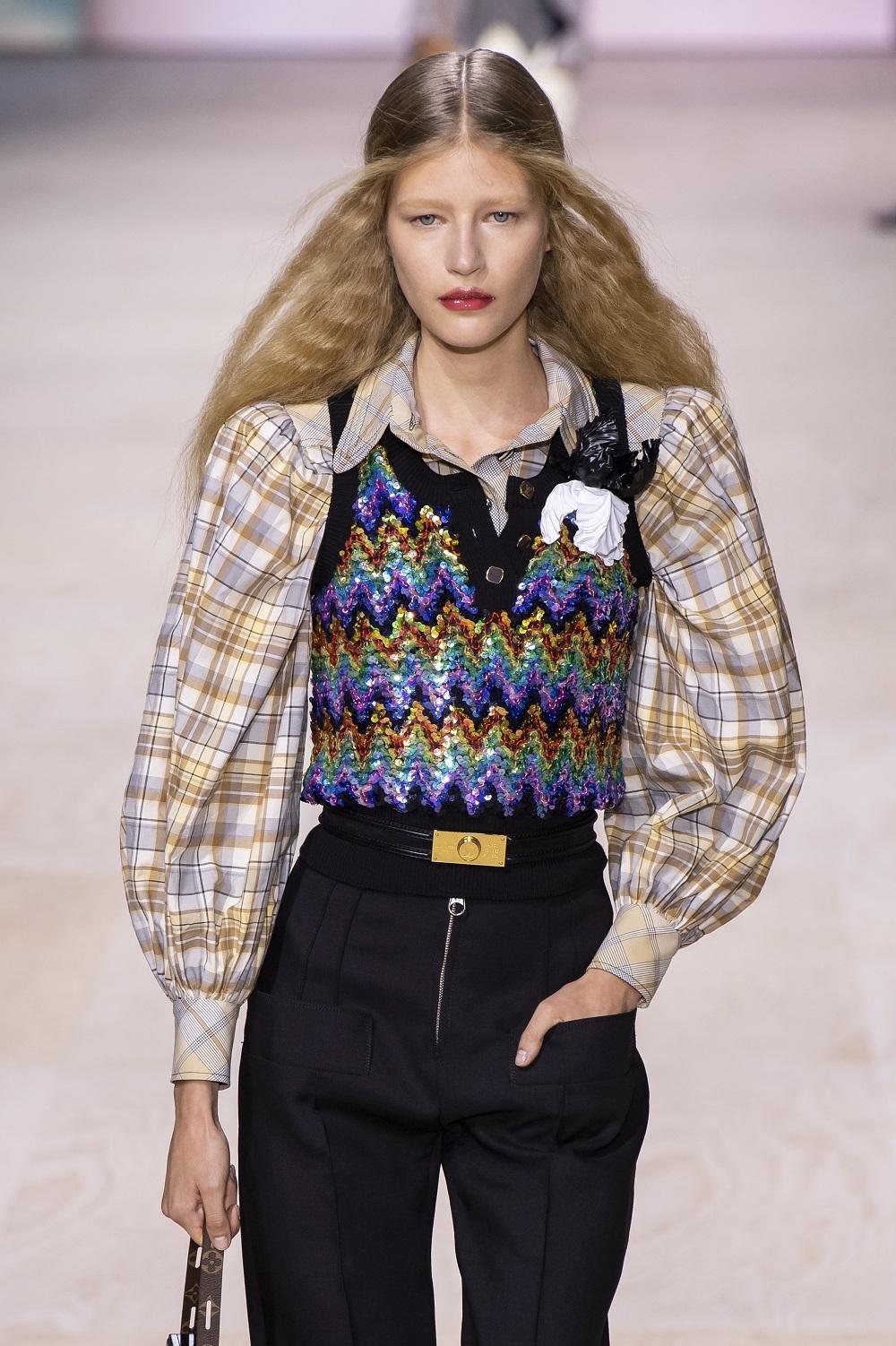 Una de las propuestas de la colección primavera-verano 2020 de Louis Vuitton.