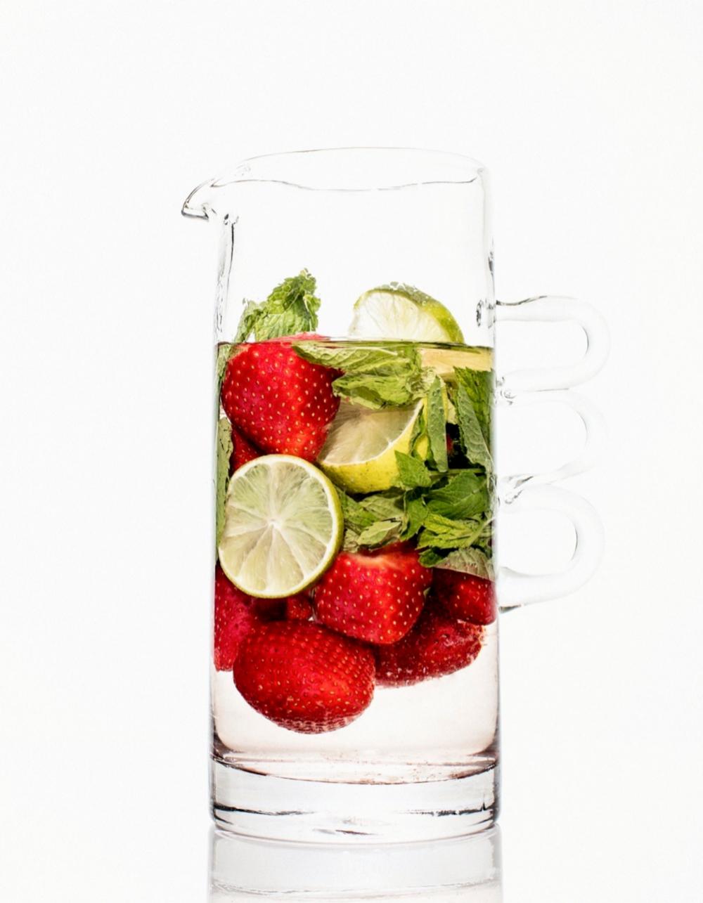 Los zumos son ricos en agua, azúcar y vitaminas.