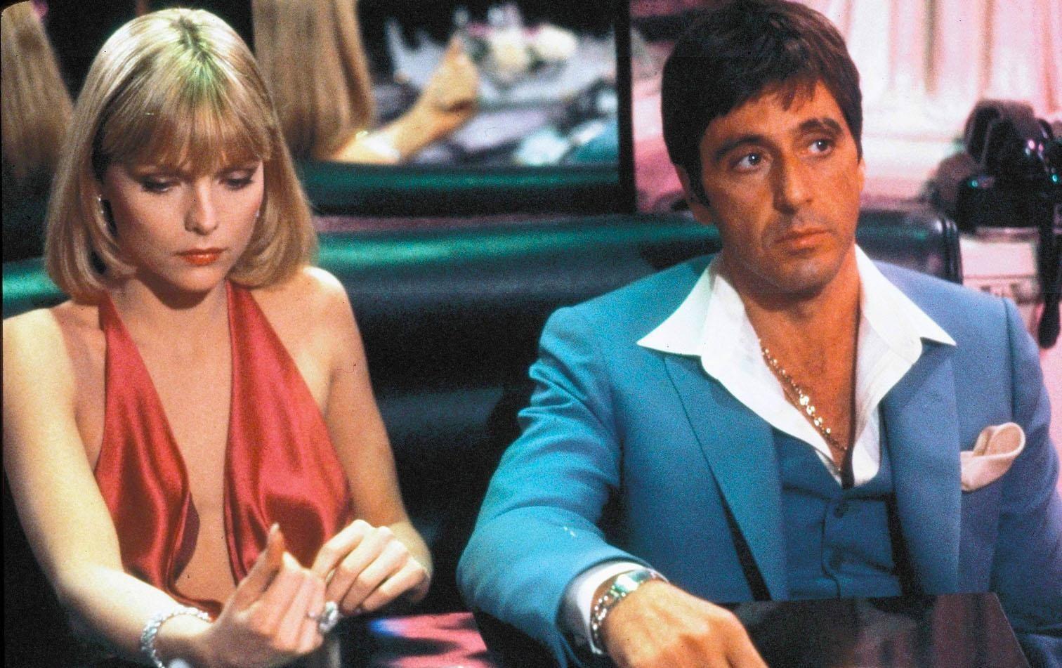 """Todavía se desconoce quién dará vida a Tony Montana y su mujer, Elvira, en el remake de """"Scarface""""."""