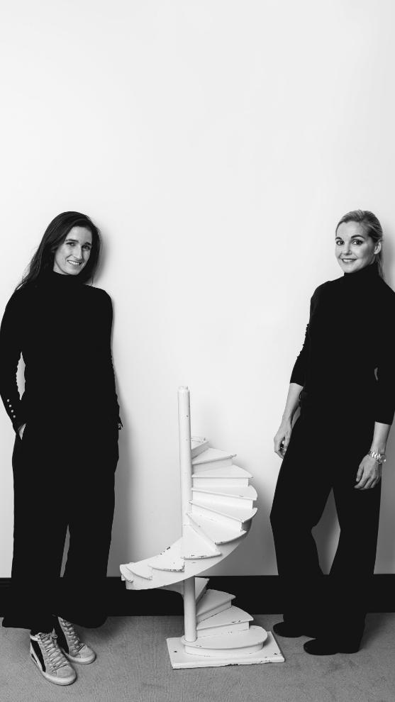 Alba Hurlé y Alicia Martín, de Cousi Interiorismo.