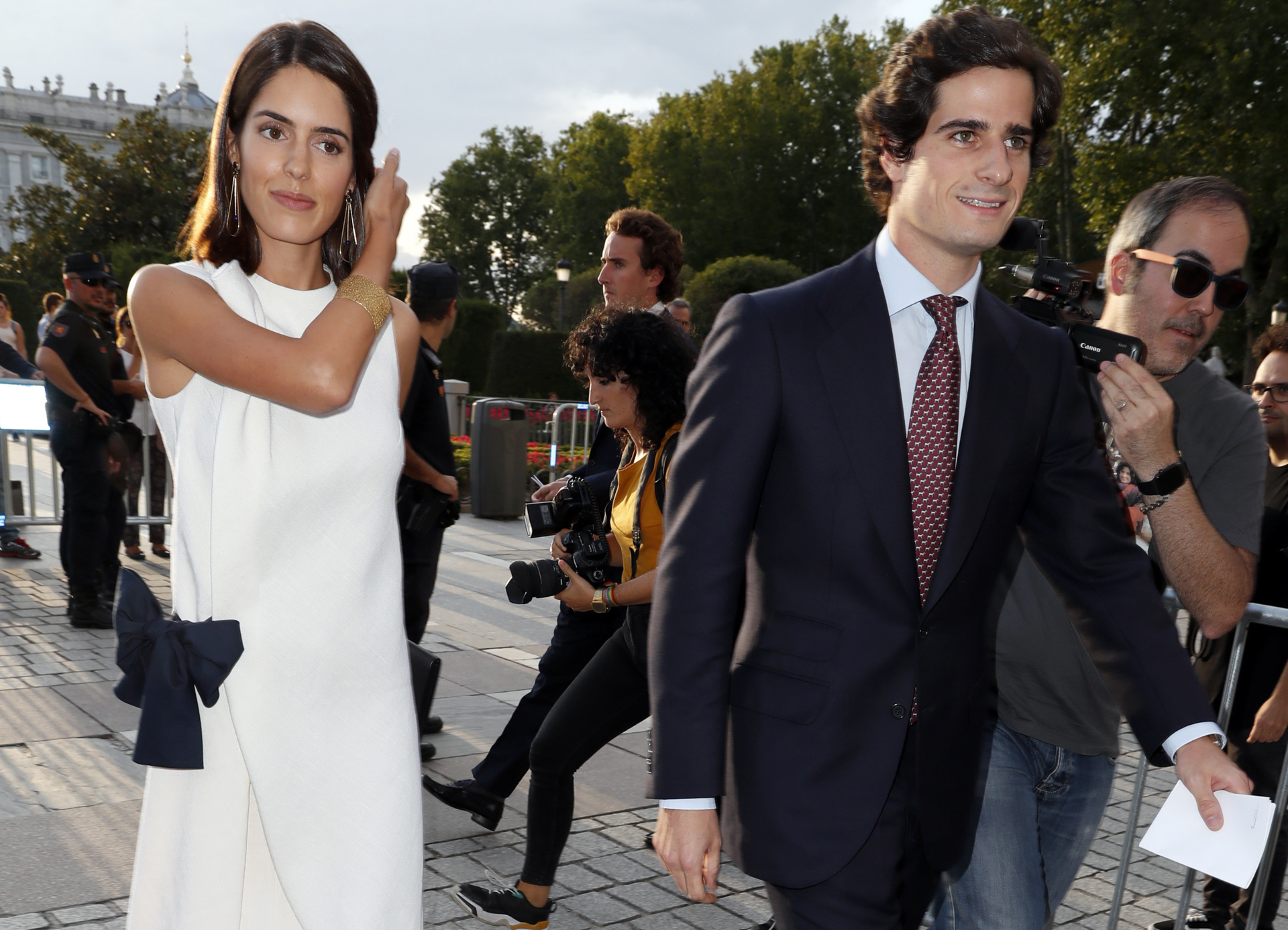 Sofía Palazuelo y Fernando Fitz-James Stuart.