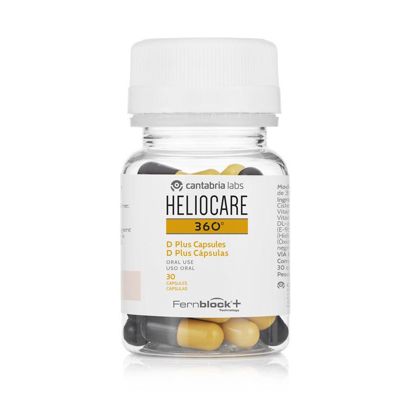 Heliocare 360 D Plus Cápsulas. 39,31 euros.