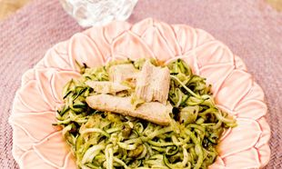 Anímate con unos Espaguetis de calabacín con atún como estos (sigue...