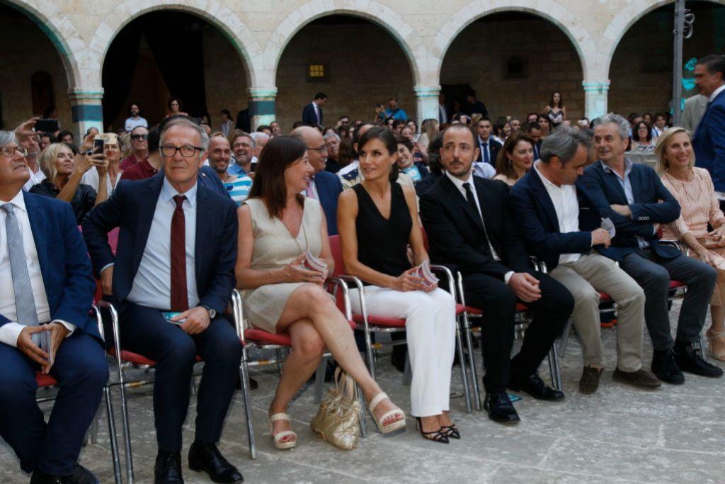 La reina en el Atlántida Film Fest de Palma de Mallorca.