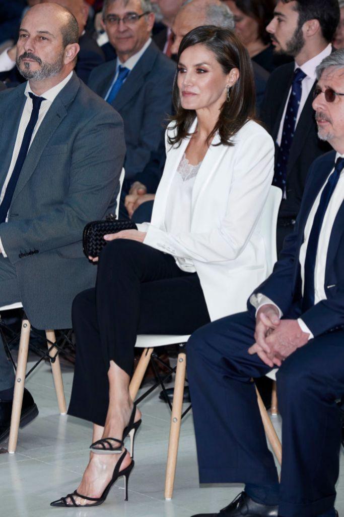 La reina en los premios El Barco de Vapor.