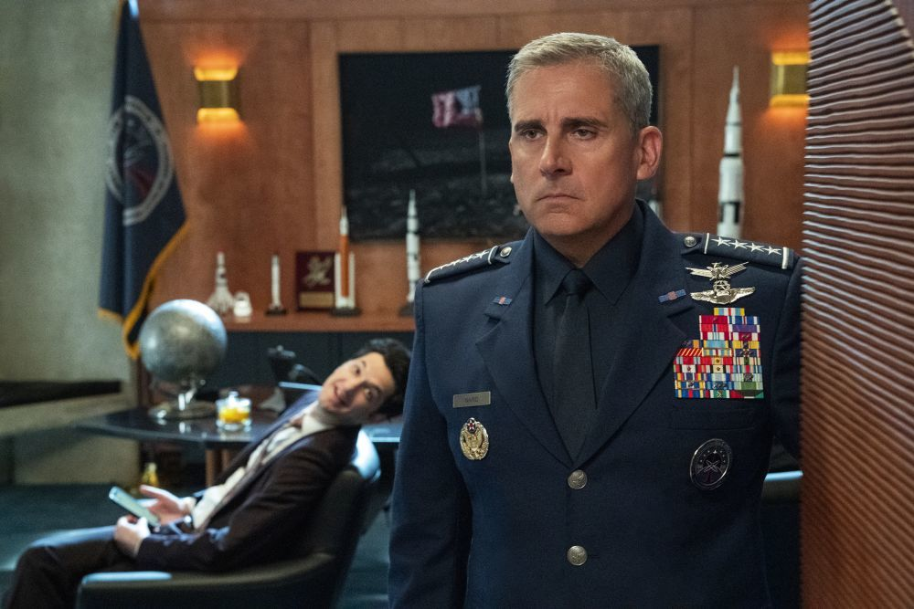 """Tras dedicarse al cine, Steve Carell vuelve al universo de las series con """"Space Force""""."""