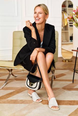 """Karolina Kurkova participa en el casting de """"My Tod's Closet""""."""