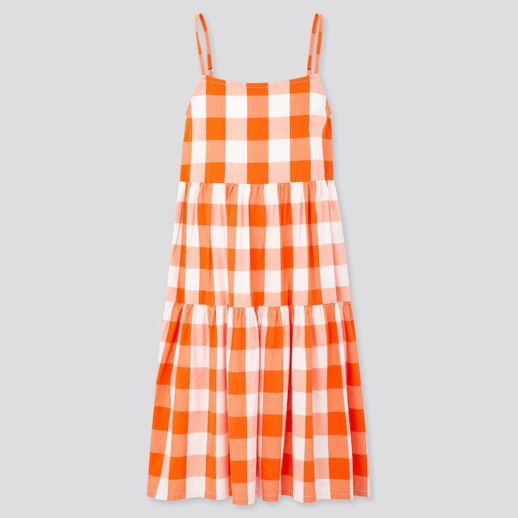 Vestido de cuadros para niña de JW Anderson para Uniqlo (19,90 euros).