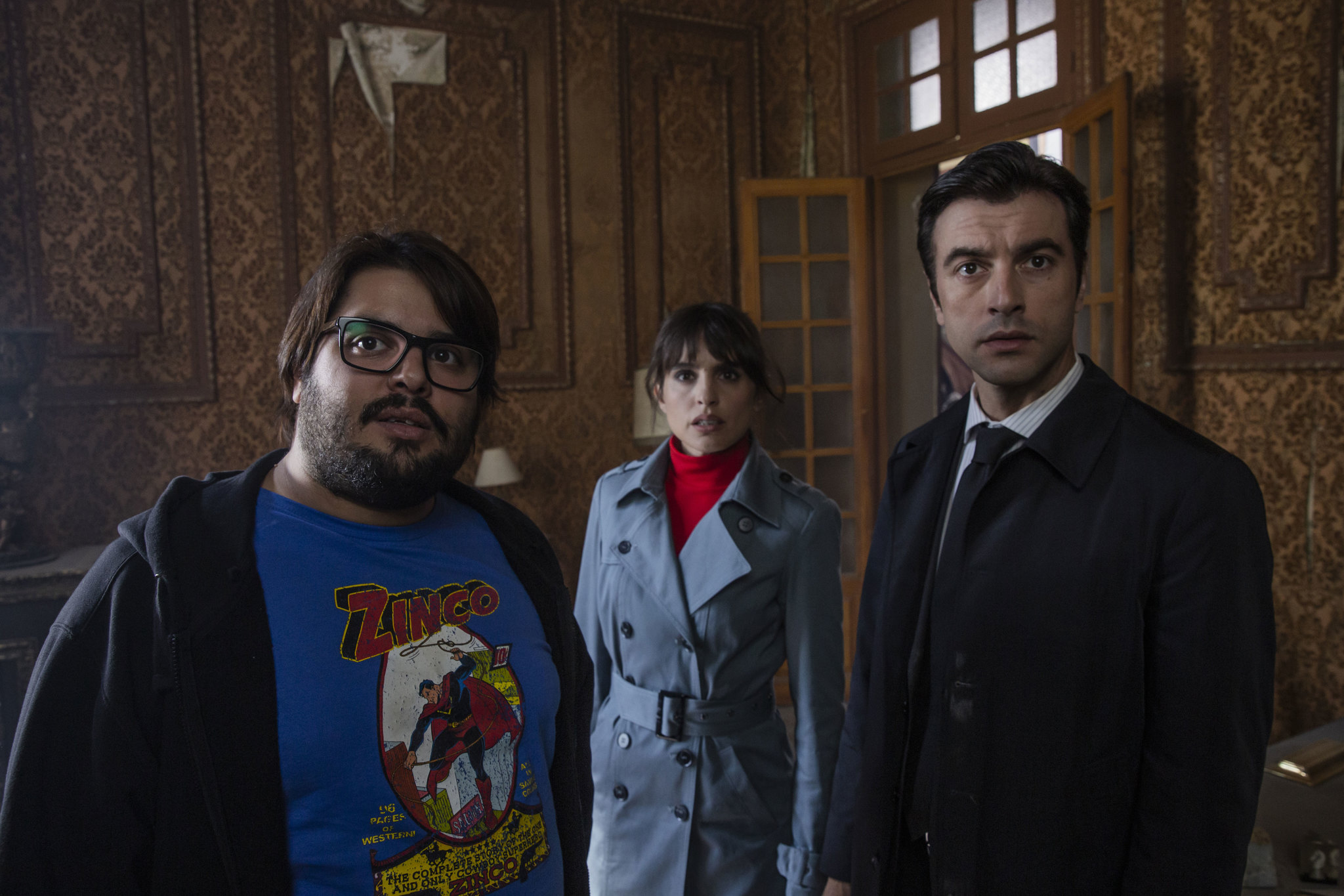 Verónica Echegui, Brays Efe y Javier Rey