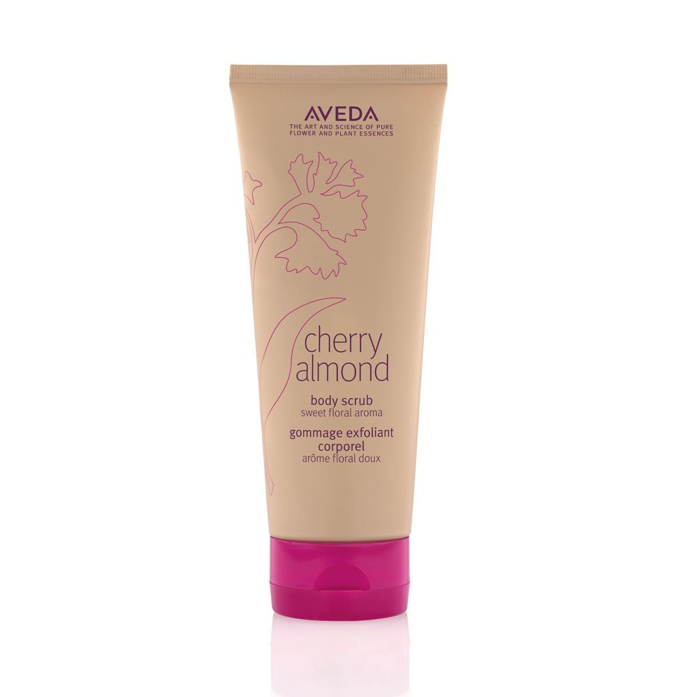 Cherry Almond Body Scrub de Aveda.