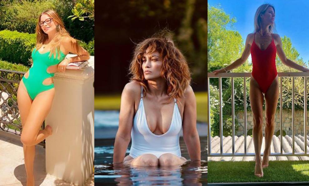 Sofia Vergara, Jennifer Lopez y Amelia Bono luciendo tipazo en sus...