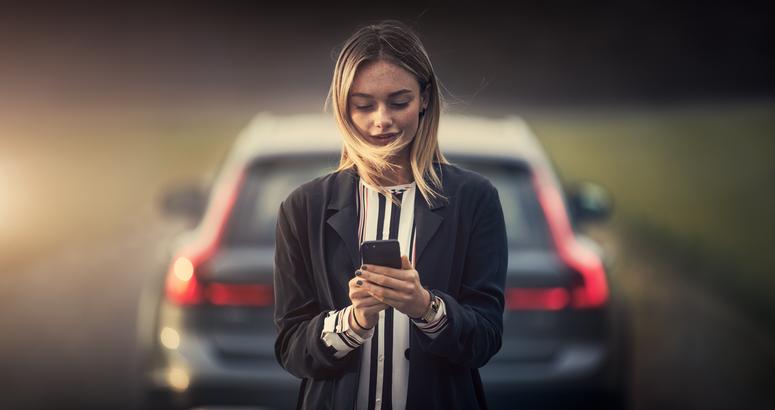 Tu teléfono es la llave: el XC40 y tu smartphone son uno.