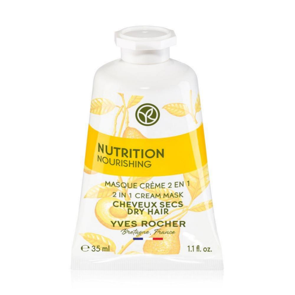 Mascarilla en monodosis pre y post champú Nutrición de Yves Rocher (2,95 euros).