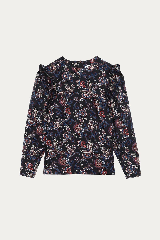 Camisa estampada de Bash (170 euros).