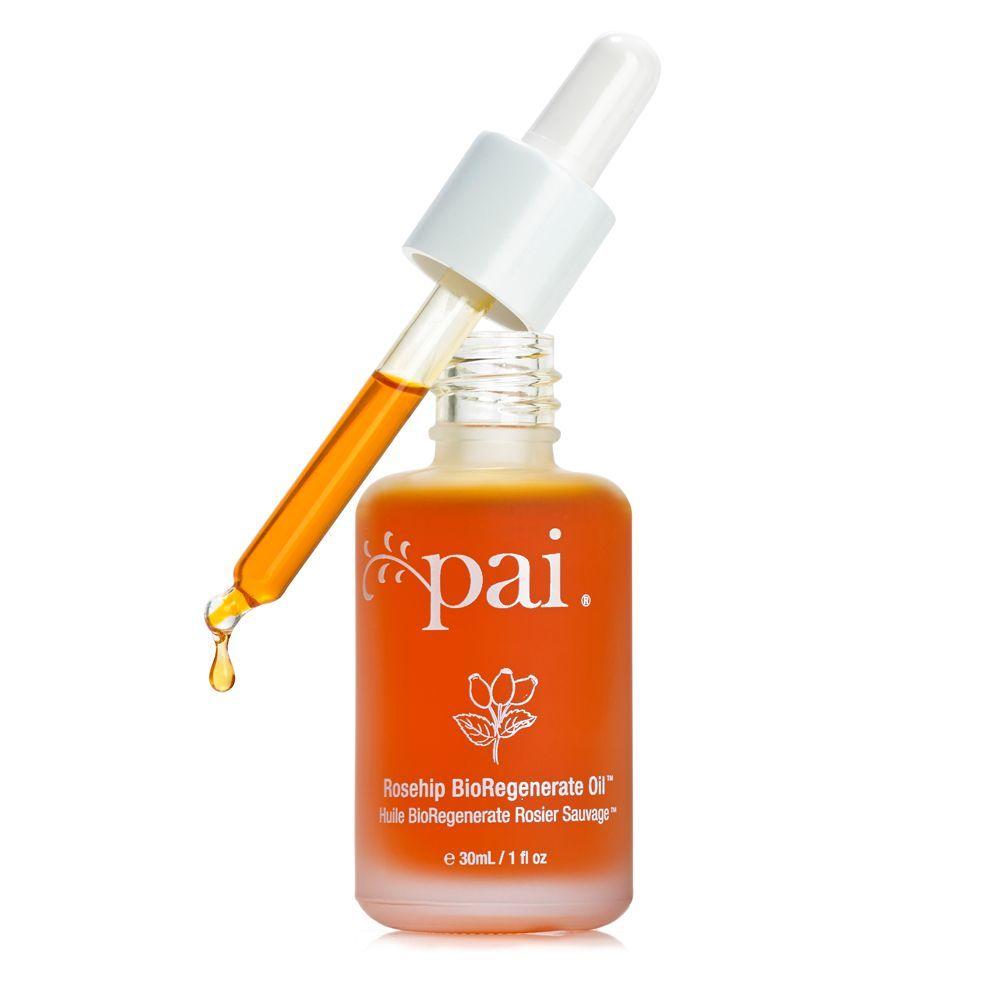 Rosehip Bioregenerate Oil de Pai (29,95 euros) es un tratamiento multiusos para todo tipo de pieles, especialmente las más sensibles y es rico en aceite de rosa mosqueta con omegas 3, 6, 7 y 9 y aceite de granos de granada, poderoso antioxidante. A la venta en Sephora.