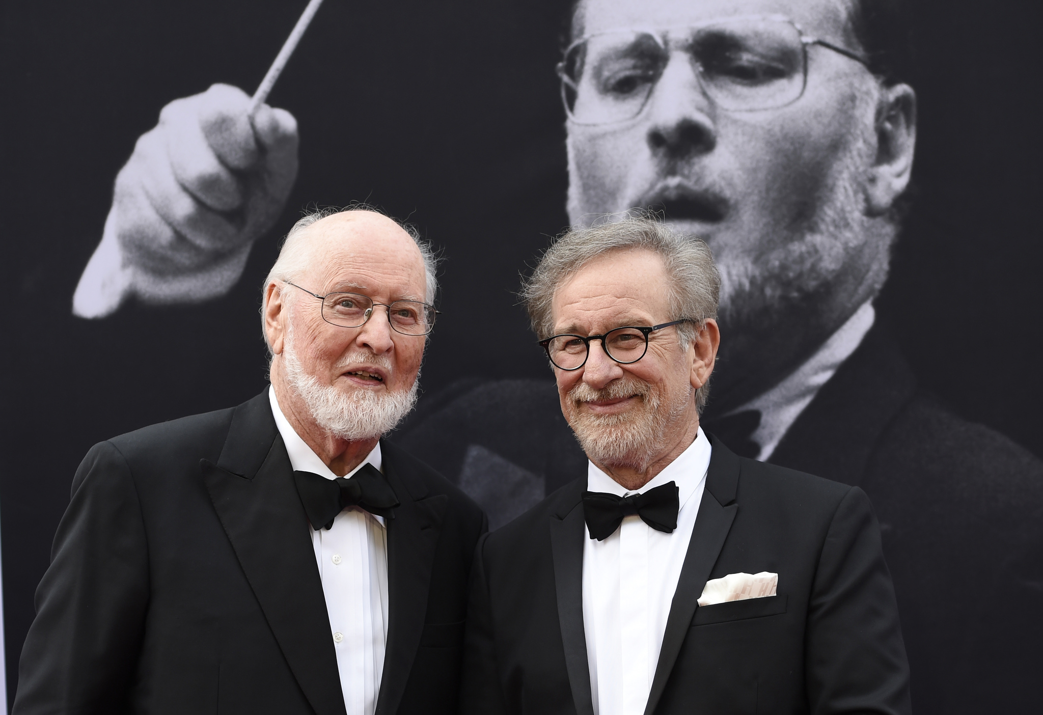 John Williams y Steven Spielberg en 2016