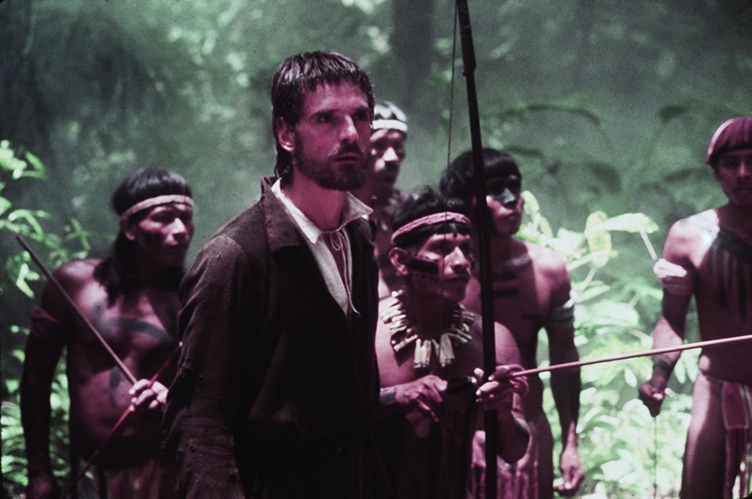 Fotograda de La Misión, con banda sonora original de Ennio Morricone