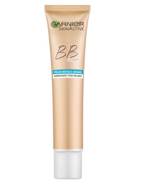 BB Cream Piel Mixta de Garnier (10,20 euros).